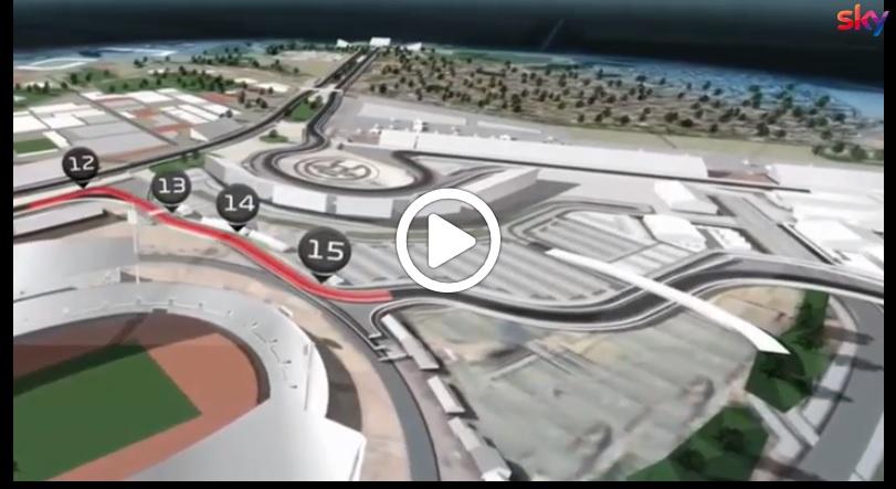 F1 | GP Vietnam, l'analisi curva per curva del futuro tracciato di Hanoi [VIDEO]
