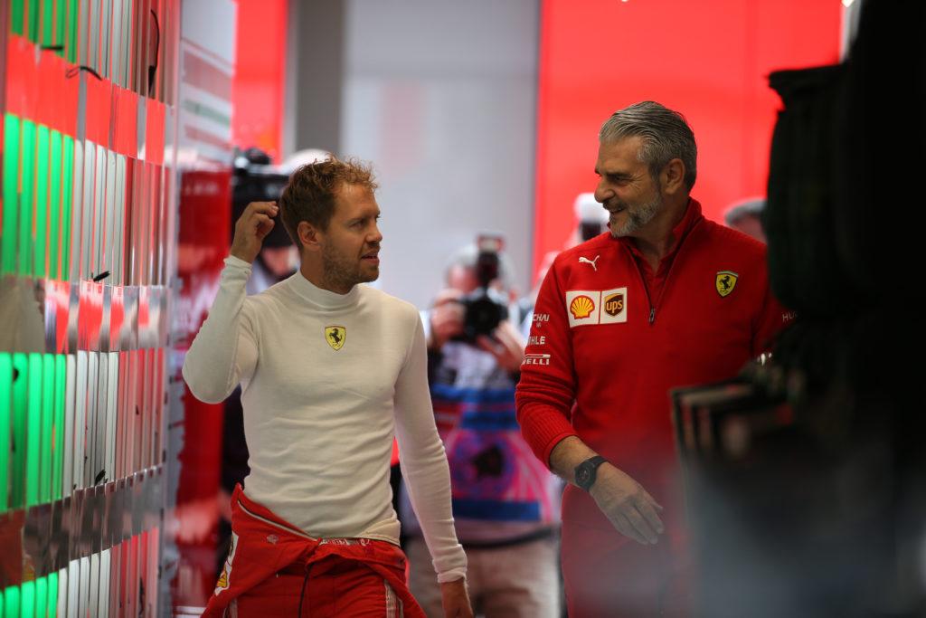 """F1   Ferrari, Arrivabene bacchetta Vettel: """"Avrà in regalo delle gomitiere"""""""