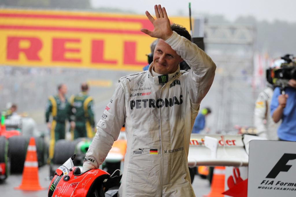 F1   Schumacher non è più attaccato ai macchinari
