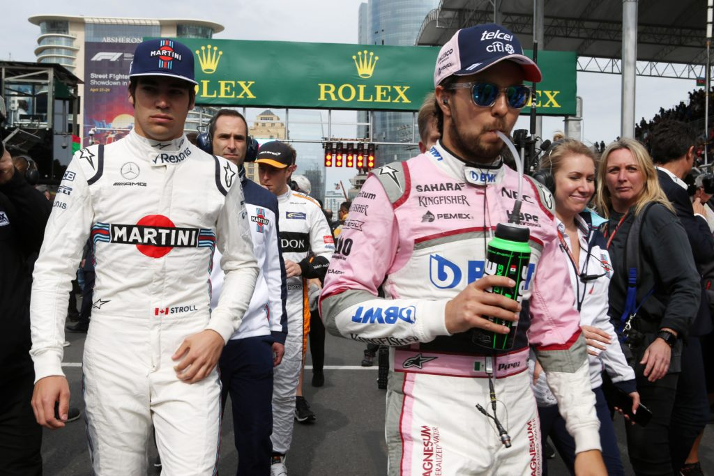 "F1 | Force India, Perez accoglie Stroll: ""In Williams ha vissuto una brutta stagione, ma ha talento"""