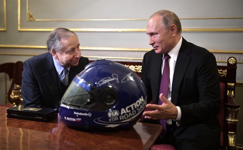 Formula 1   FIA, Todt e Putin pianificano lo sviluppo del motorsport in Russia