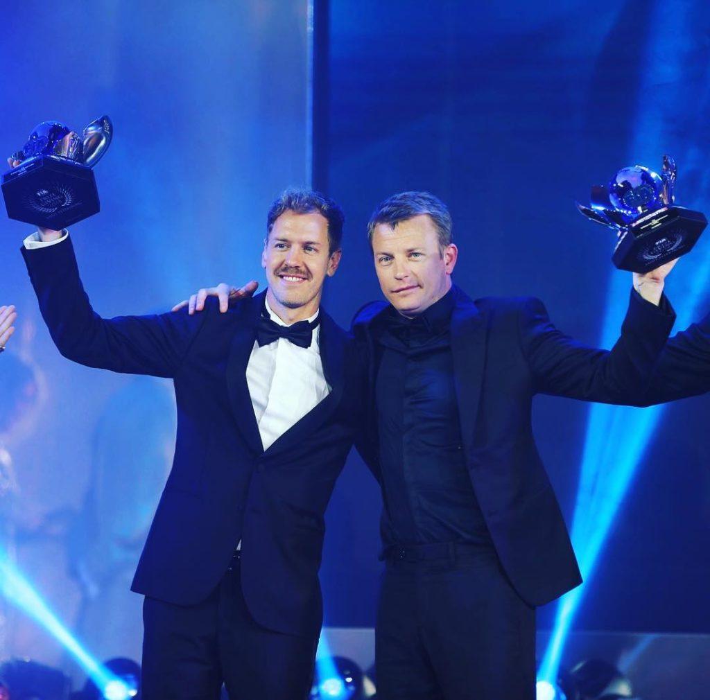 F1   Gran Galà FIA, Vettel e Raikkonen premiati per i piazzamenti mondiali conquistati nel 2018