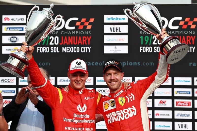 Mick Schumacher batte Sebastian Vettel. È un predestinato