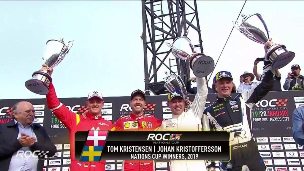F1, occhio a Mick Schumacher: supera Vettel alla Race of Champions