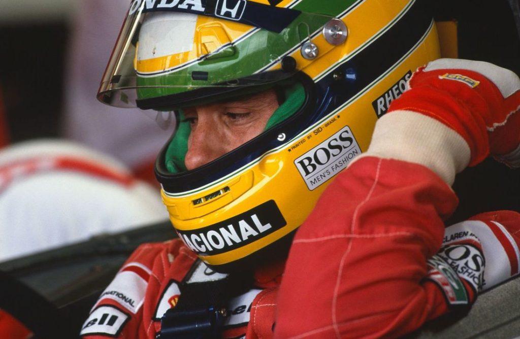 F1 | Messo all'asta il casco di Senna utilizzato nella stagione 1990