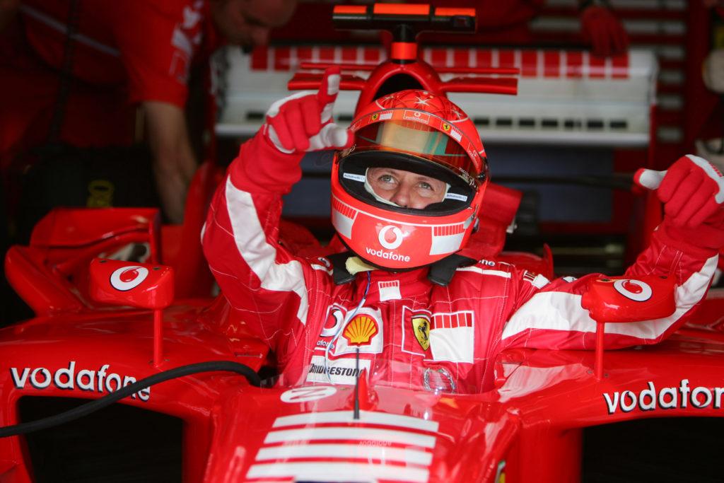 F1 | All'asta il casco utilizzato da Michael Schumacher nel GP di Francia 2005