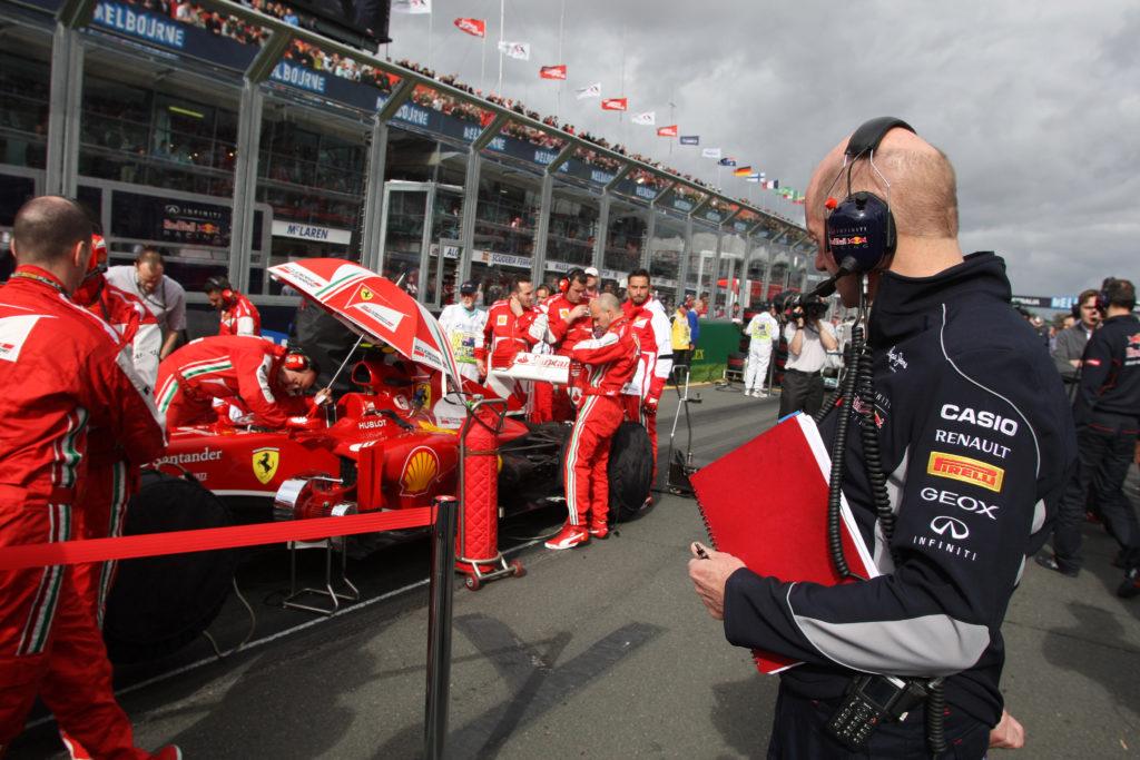 """Adrian Newey: """"En 1996 rechacé a Ferrari, no quería trabajar con Schumacher"""""""