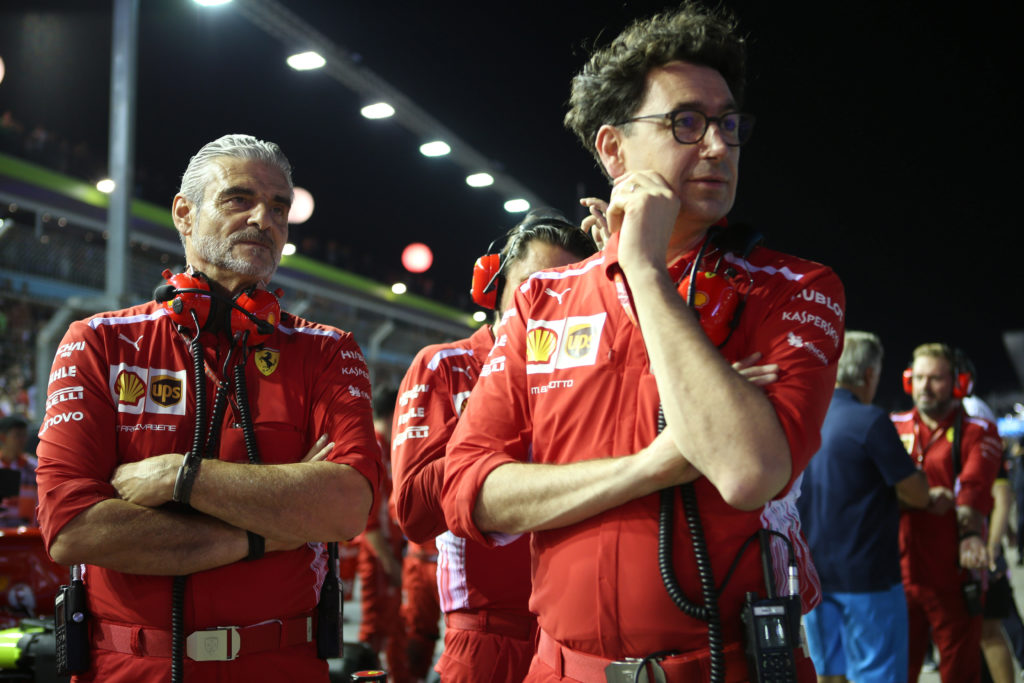 """F1   Ferrari, Sticchi Damiani sull'avvicendamento Arrivabene-Binotto: """"Giusto cambiare, non devono esserci più equivoci"""""""