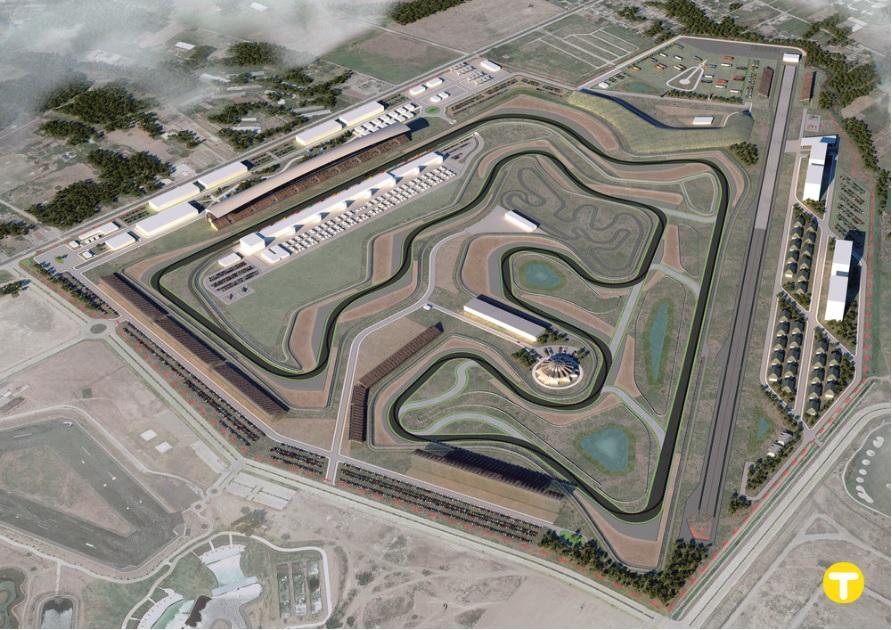 F1 |  GP Filippine, svelato il layout del possibile tracciato di Manila