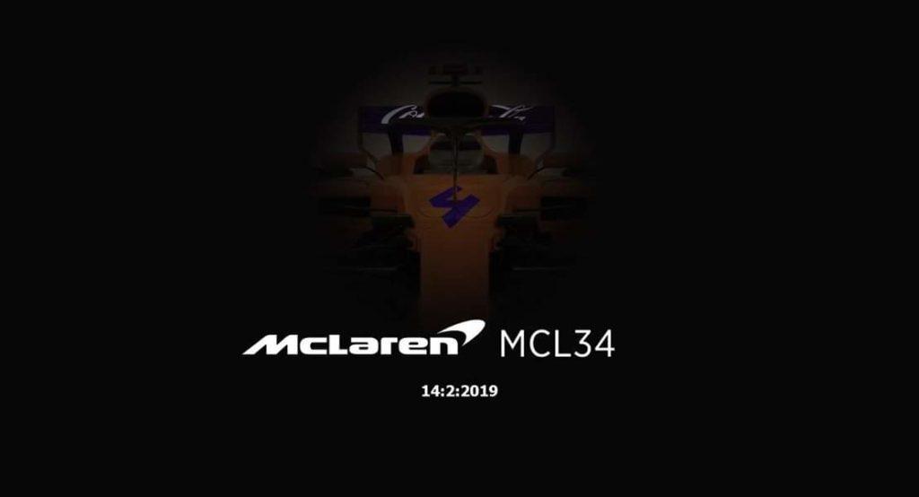 Formula 1   McLaren smentisce la pubblicazione di alcune foto riguardanti la vettura 2019
