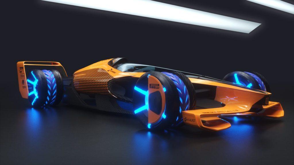 Formula 1 | McLaren guarda al futuro: presentato un concept di vettura per il 2050