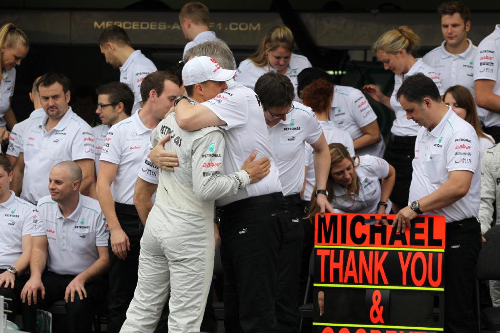 """F1   Brawn si schiera dalla parte di Corinna Betsch: """"Giusto rispettare il volere della famiglia Schumacher"""""""