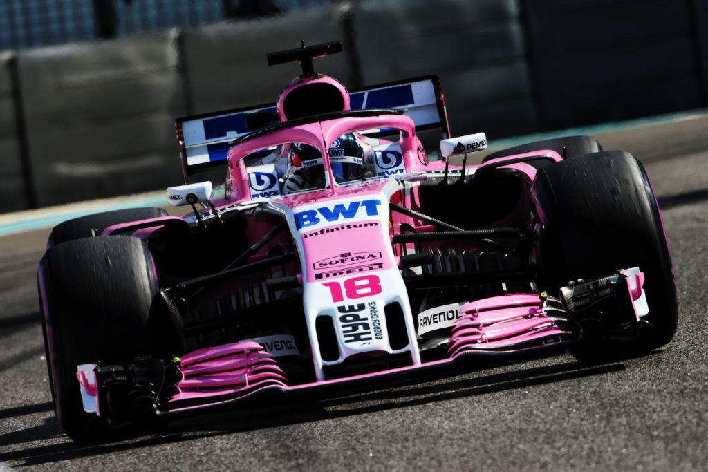 F1 | Racing Point, l'arrivo di SportPesa potrebbe aggiungere del blu alla livrea della vettura 2019