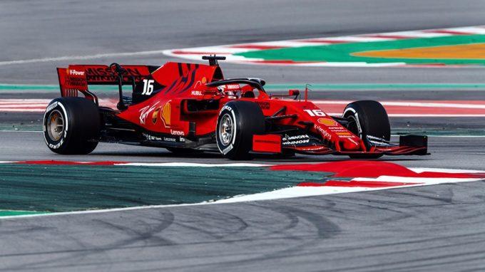 """Test F1   Ferrari, Leclerc: """"Sono contento del bilancio di questa giornata, mi sono trovato subito a mio agio sulla SF90"""""""