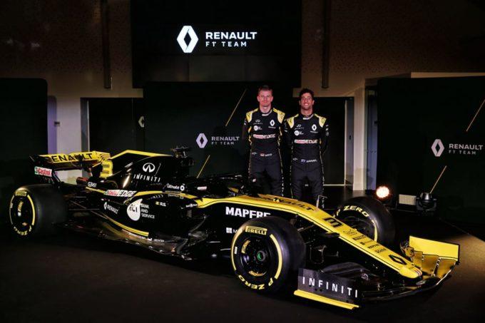 F1, presentazione Renault 2019: le prime foto della RS19