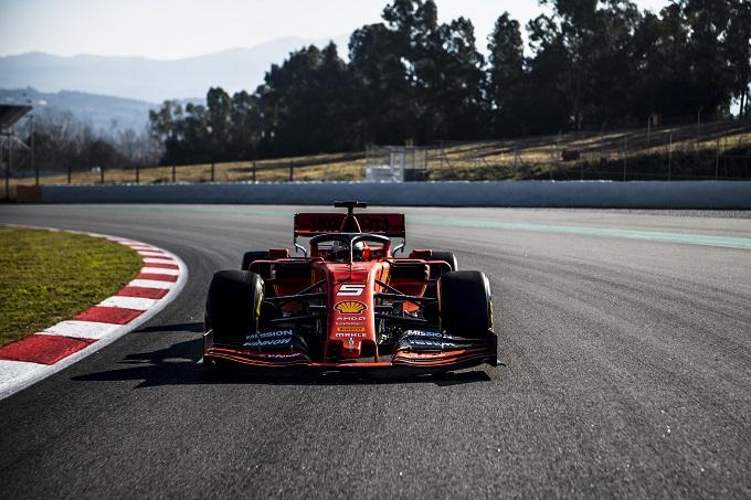 F1   Ferrari, svolto il filming day al Montmeló