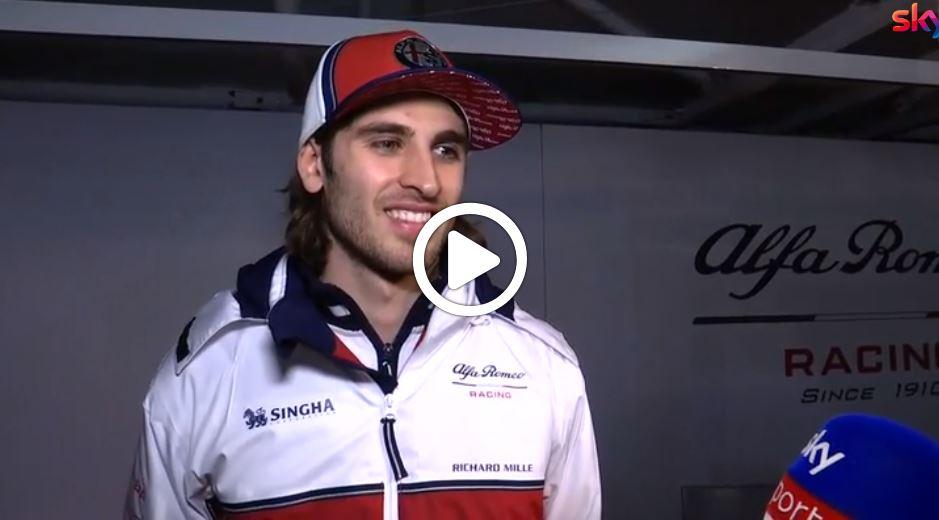 """F1 Test   Alfa Romeo Racing, Giovinazzi: """"Lavoriamo sugli ultimi dettagli, sono contento di quanto fatto sin qui"""" [VIDEO]"""
