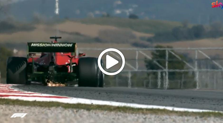 F1 Test | Anche la seconda giornata nel segno Ferrari: Leclerc davanti a tutti [VIDEO]