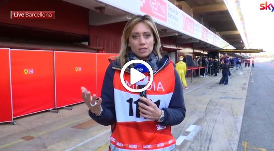 F1   Test Barcellona, novità aerodinamiche per la Mercedes [VIDEO]