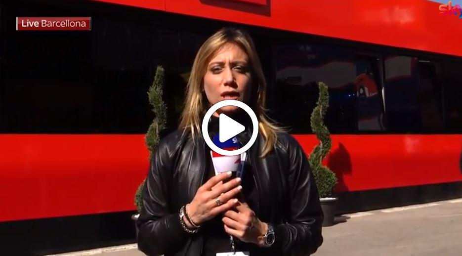 F1 Test | Giovinazzi primo in mattinata, solo 29 giri per Leclerc [VIDEO]