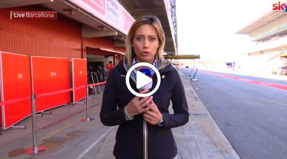 Formula 1 Test | Ferrari, incidente Vettel: problema alla parte anteriore sinistra [VIDEO]
