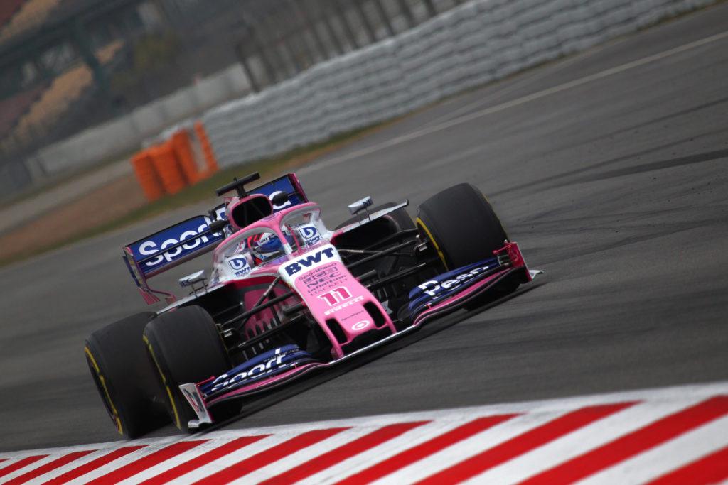 """F1 Test   Racing Point, Perez: """"Fatti passi in avanti, ma abbiamo avuto un problema nel pomeriggio"""""""