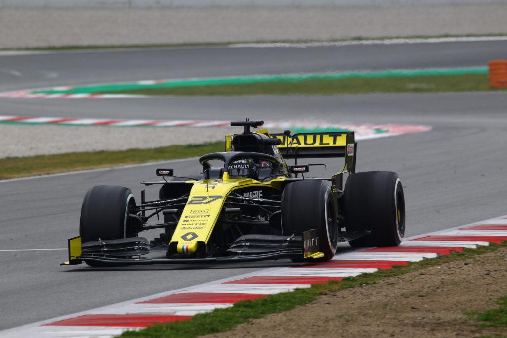 """Test F1   Renault, Hulkenberg: """"Abbiamo fatto un buon lavoro, è stato un peccato fermarsi in pista"""""""
