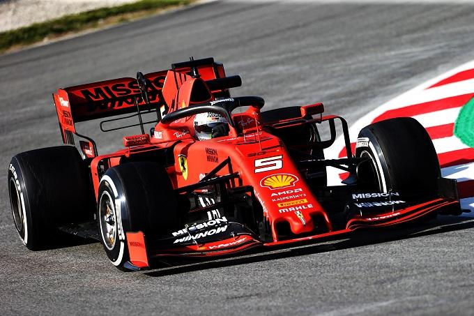 """Test F1   Ferrari, Vettel: """"Non avremmo potuto sperare in una giornata migliore"""""""