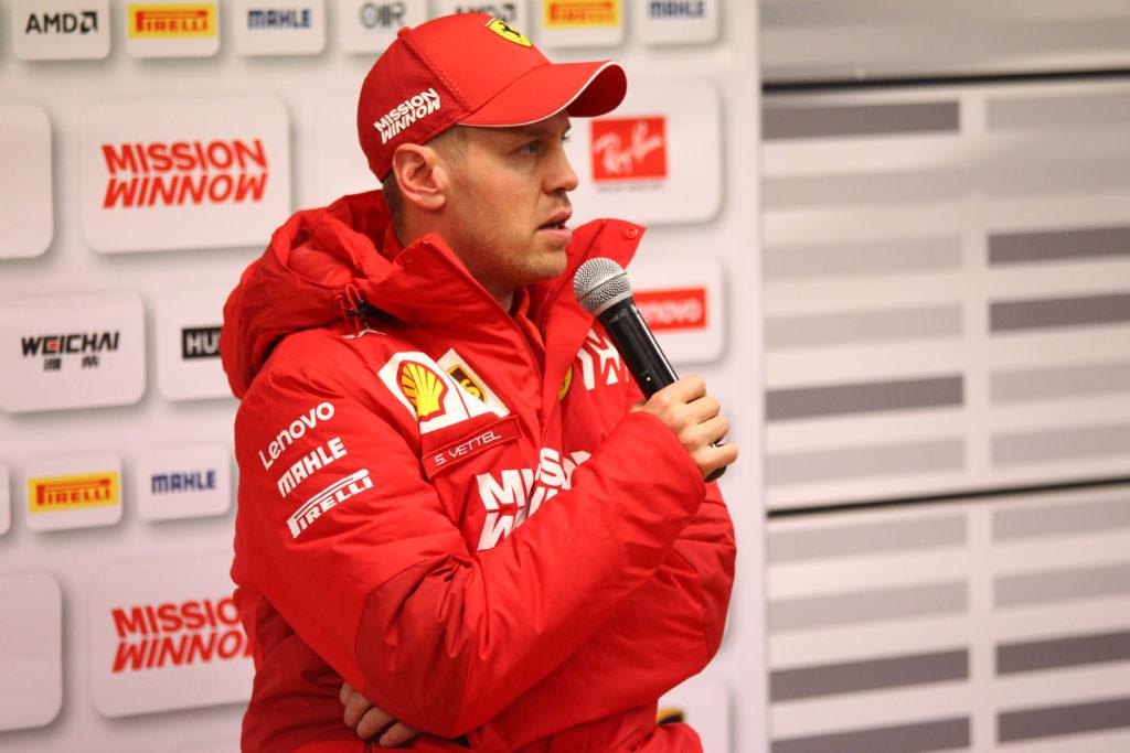 """F1 Test   Ferrari, l'entusiasmo di Vettel: """"Il miglior inizio di stagione della mia carriera"""""""