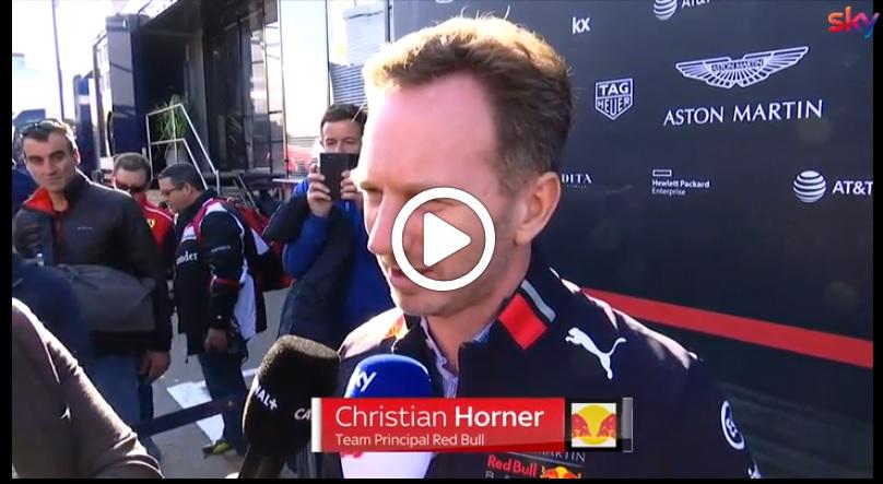 """Formula 1 Test   Red Bull, Horner soddisfatto della collaborazione con Honda: """"Stiamo lavorando bene"""" [VIDEO]"""