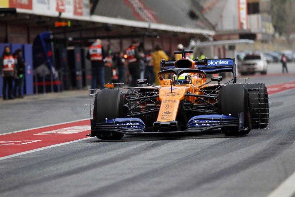 """F1 Test   McLaren, Norris: """"Sono abbastanza felice di questa prima volta. I tempi? Non importanti"""""""