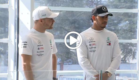 Formula 1 | Mercedes: Hamilton e Bottas in Italia, visita alla sede della Petronas [VIDEO]