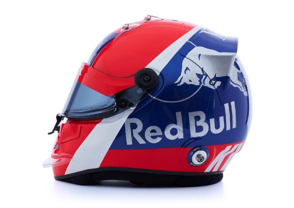 F1 | Toro Rosso: presentati i caschi di Kvyat e Albon
