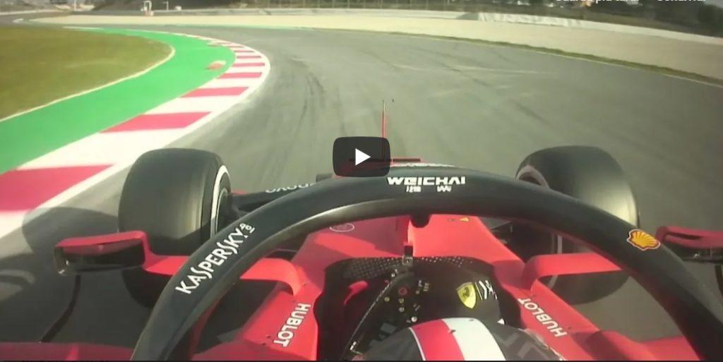 F1 | Ferrari SF90, svelato un onboard di Charles Leclerc durante la prima quattro giorni di test a Barcellona [VIDEO]