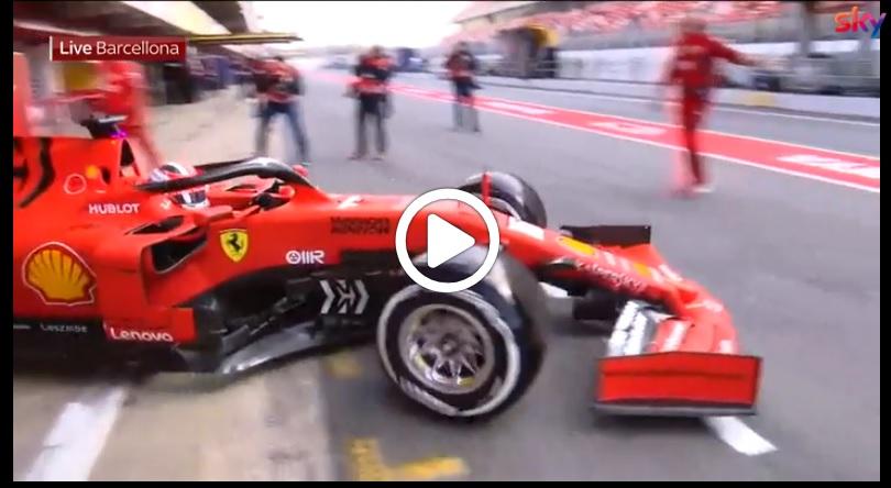 Formula 1 Test | Test Barcellona, dominio Ferrari con Leclerc nella mattinata della seconda giornata [VIDEO]