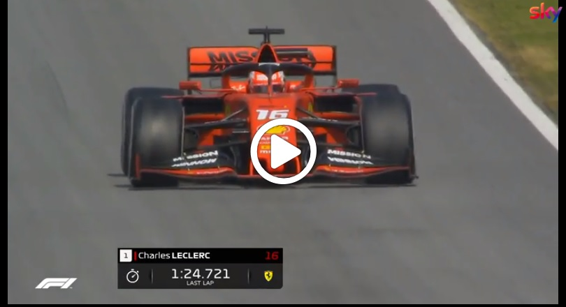 Formula 1 Test | Ferrari, Charles Leclerc domina il secondo giorno di test a Barcellona [VIDEO]