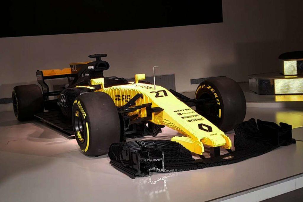 F1 | Venduta all'asta la riproduzione Lego della Renault