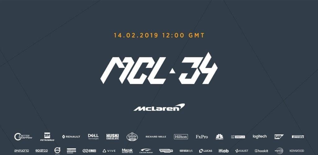 F1 | Presentazione LIVE della nuova McLaren MCL34: segui la diretta [VIDEO]