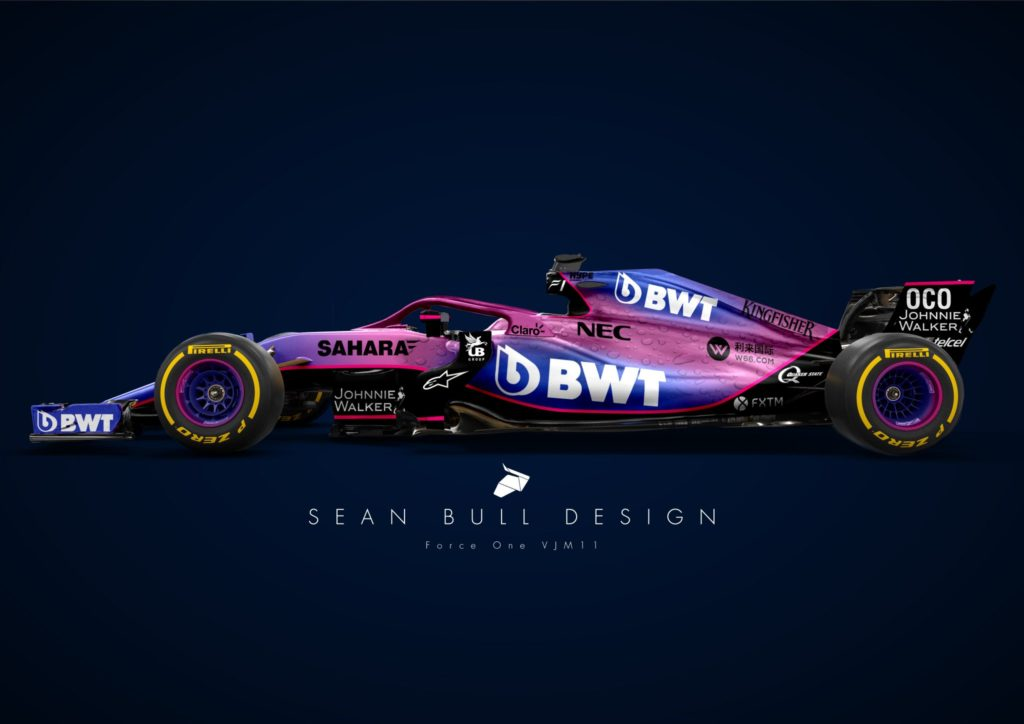 F1 | Racing Point, Sean Bull anticipa la livrea della nuova VJM11? [RENDER]