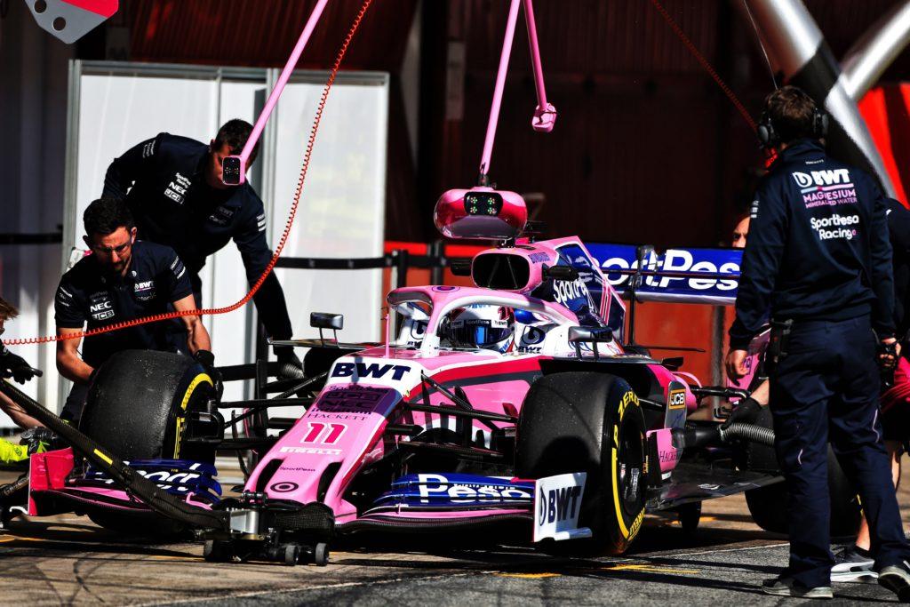 F1 Test   Racing Point pronta a presentarsi in Australia con un nuovo pacchetto evolutivo?