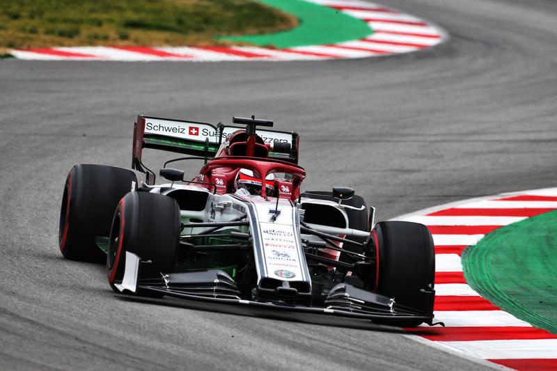 Test F1 Barcellona: Raikkonen al comando