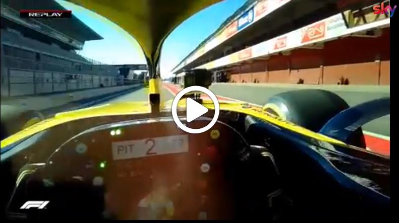 Formula 1 | Renault, onboard Ricciardo: così i piloti vedono la pista [VIDEO]