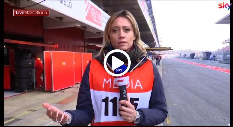 Test F1   Sky Sport, il debutto di Kubica e tutti i temi del day 4: il punto di Mara Sangiorgio [VIDEO]