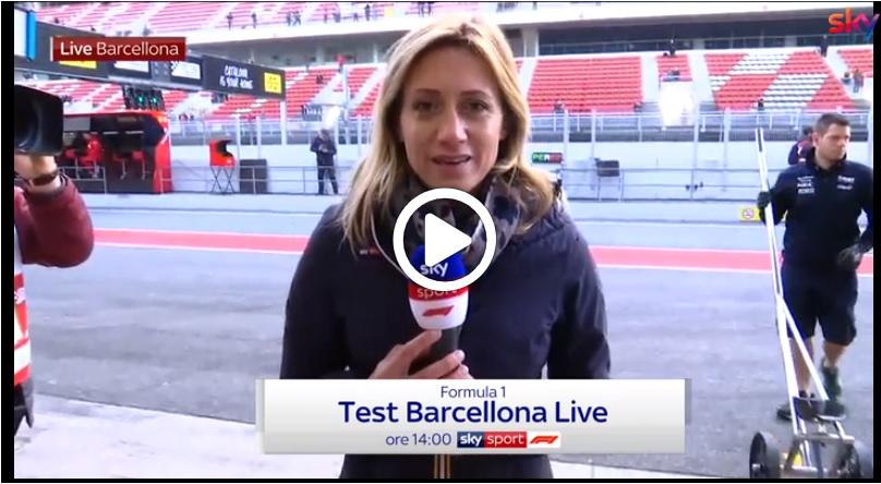 F1 Test   Sky Sport, il punto di Mara Sangiorgio dopo due ore di lavoro a Barcellona [VIDEO]
