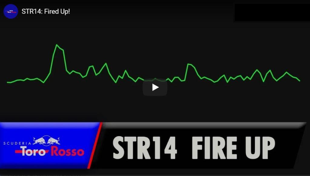 F1 I Ecco la Toro Rosso STR14 con power unit Honda
