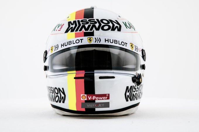 F1 | Ferrari, il casco di Sebastian Vettel per la nuova stagione