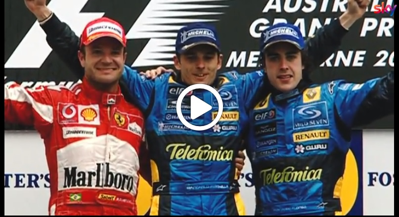 F1 | Australia 2005: Fisichella firma l'ultimo successo italiano a Melbourne [VIDEO]