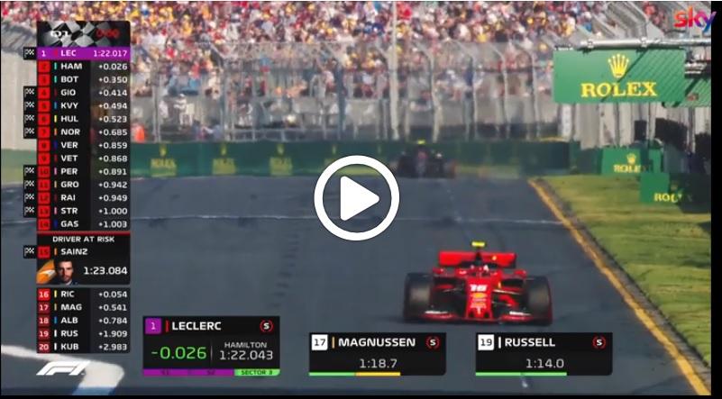 Formula 1 | GP Australia, i momenti più belli delle qualifiche di questa mattina [VIDEO]