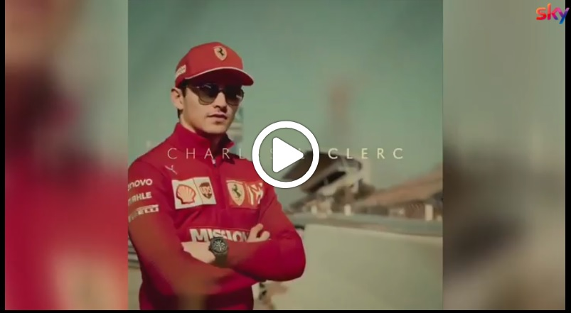 Formula 1 | Ferrari, Leclerc pronto per l'esordio in Rosso: ecco la sua clip verso l'Australia [VIDEO]