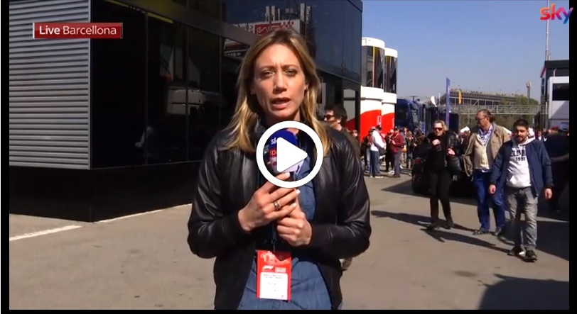 Formula 1 Test | Vettel vola nella mattinata di lavoro al Montmelò: il punto di Mara Sangiorgio [VIDEO]